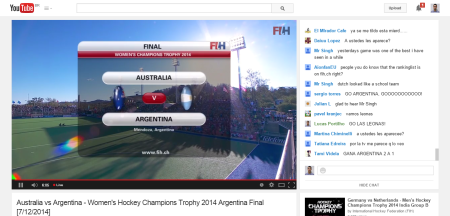 Australia vs Argentina   Women s Hockey Champions Trophy 2014 Argentina Final  7 12 2014    YouTube