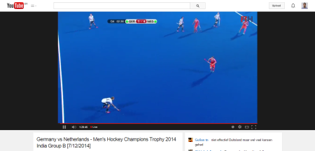 Germany vs Netherlands   Men s Hockey Champions Trophy 2014 India Group B  7 12 2014    YouTube
