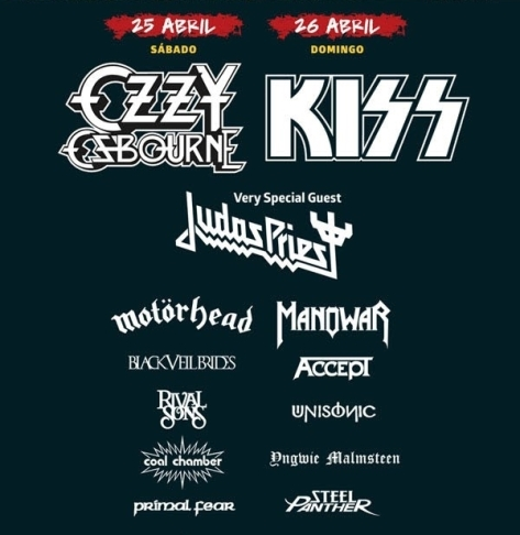 lineup monsters of rock