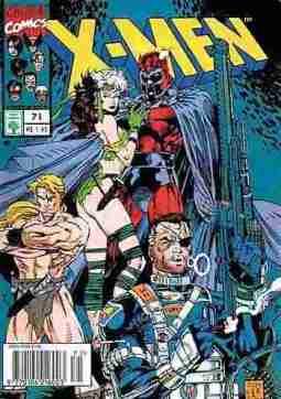 Primeira edição de X-men que li