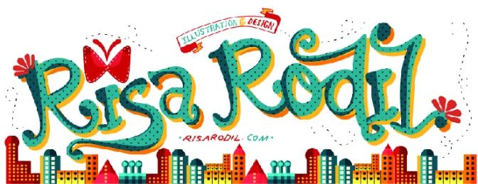 O mundo das tipografias de Risa Rodil