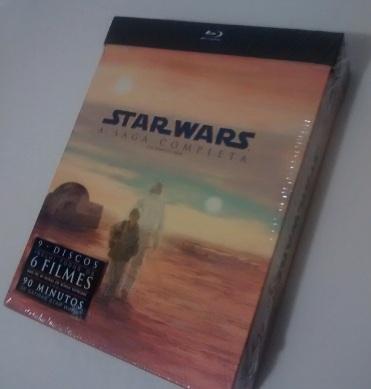 Box Star Wars blu-ray Bottle nébula star wars  sala313.com
