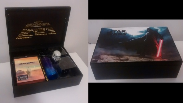 Caixa Star Wars  sala313.com