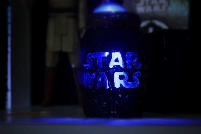 DIY: Luminária Star Wars