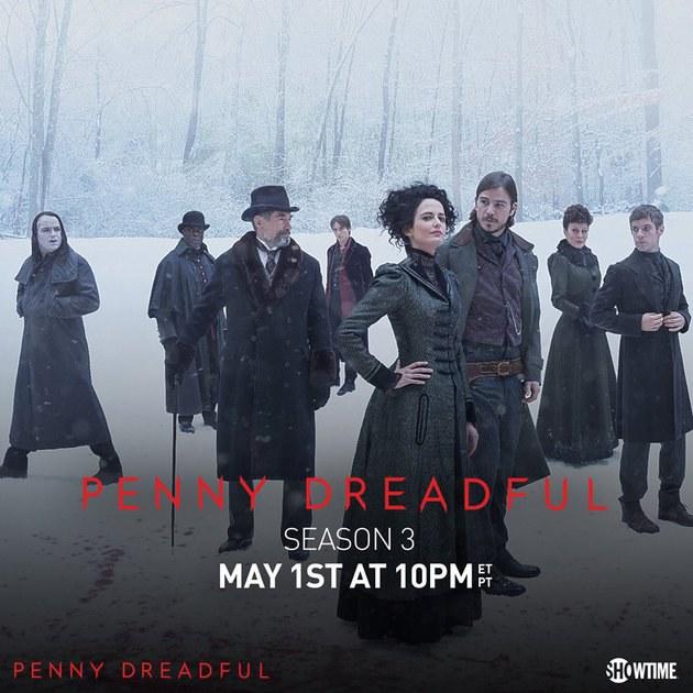 Corre que Penny Dreadful está voltando!!!